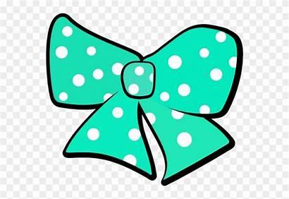 Tie Hair Clipart Bow Clip Polka Spotty