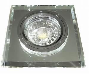 Led Einbaustrahler Glas : eckiger glas einbaustrahler laura led 230volt 3w 5w oder 7w starr klarglas ~ Eleganceandgraceweddings.com Haus und Dekorationen