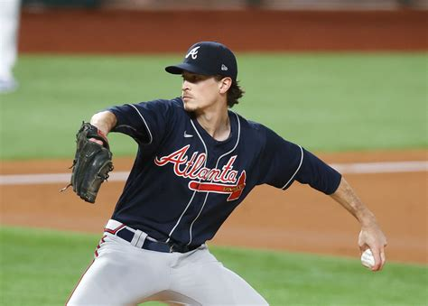 Braves left-handed starter Max Fried went to that next ...