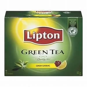 Lipton Green Tea Lemon Ginseng Tea Bags reviews in Tea ...