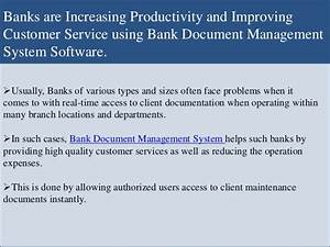Bank document management system software easy to use for for Document management system for banks