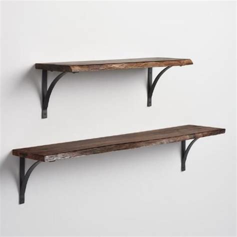 Wall Shelves Wood Wall Shelves With Brackets Wood Wall Shelves With Metal Brackets Wood Wall