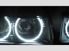 BMW E36 ANGEL EYES SMD LED vs CCFL YouTube