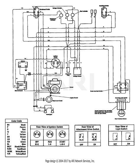 Yale Forklift Four Way Switch Wiring Diagram by For Troy Bilt Garden Way Mower Wiring Diagram