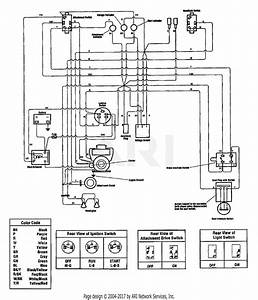 Troy Bilt 13101 16hp Gtx Hydro Garden Tractor  S  N 131010100101  Parts Diagram For Wiring Diagram
