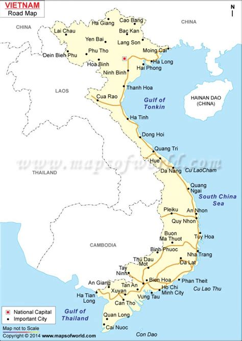 buy vietnam road map