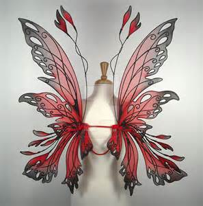 Red Fairy Wings