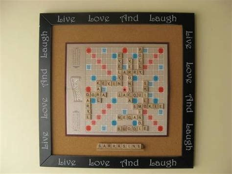 scrabble tile craft ideas craft and gift ideas with scrabble letters paperblog 5379