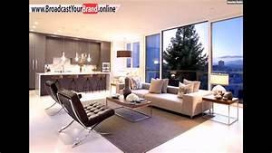 Moderne Fliesen Küche : wohnzimmer k che in einem wei er boden fliesen beige braun ~ A.2002-acura-tl-radio.info Haus und Dekorationen