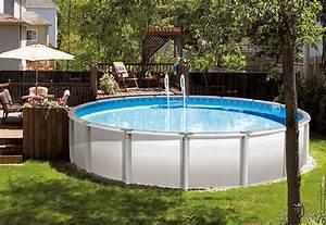 Amenagement Autour Piscine Hors Sol : amenagement piscine hors sol metal ~ Nature-et-papiers.com Idées de Décoration