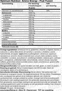 Amino Energy Optimum Nutrition