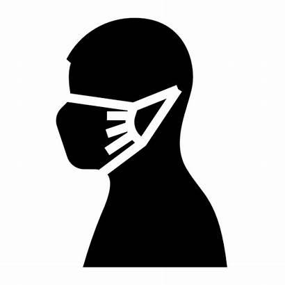 Mask Wear Coronavirus Face Icon Safety Protection