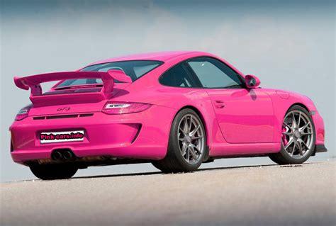 pink porsche pink car collection