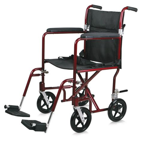 medline transport chair carry bag medline aluminum transport chair 19 quot