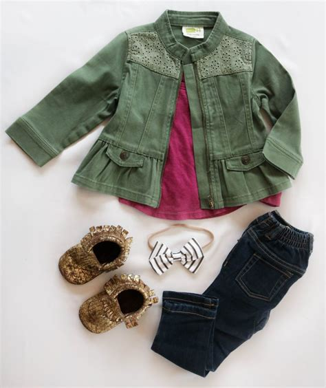 Fall/Winter Baby Girl Outfits - Positively Oakes