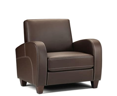Vivo Faux Leather Sofa Arm Chair
