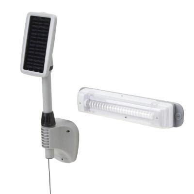 gama sonic 24 in light my shed 2 solar powered shed light