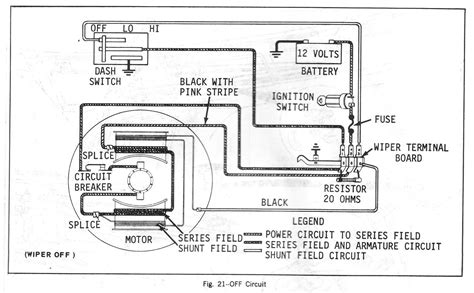 1987 chevy truck wiper motor wiring diagram wiring diagram