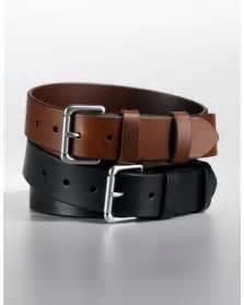 Polo Ralph Lauren Black Leather Belt