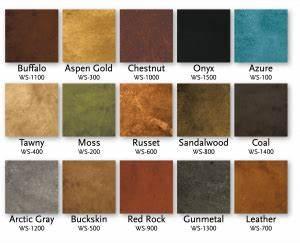concrete stain color chart behr concrete coatings