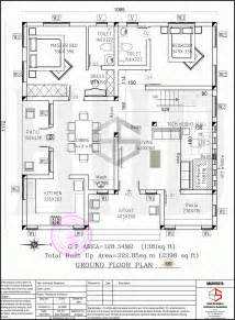 floor plan designs floor plan and elevation of 2398 sq ft contemporary villa home kerala plans