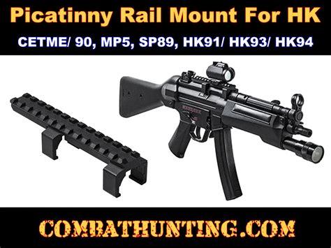 mdmpv picatinny rail scope mount  hk mp cetme sp hk hk hk heckler koch