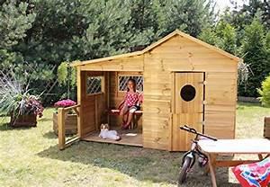 Bauanleitung Spielhaus Holz : baumotte spielhaus holz kinderspielhaus heidi spielhaus ~ Michelbontemps.com Haus und Dekorationen