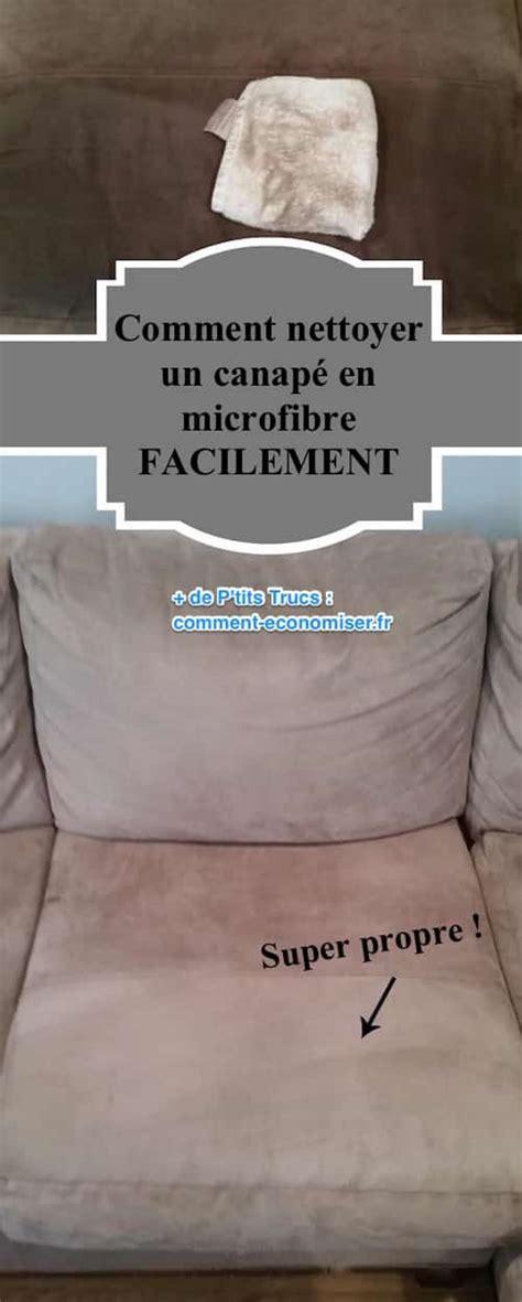 nettoyer canapé en microfibre comment nettoyer un canapé en microfibre facilement