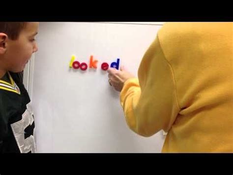 Breaking Words (word Endings) Component Of Reading Recovery  Youtube  Marie Clay Reading