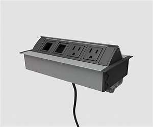 Flip-up Power Outlet