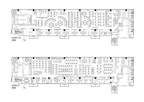 modern office building design layout ddb office advertising agency floor plan allegra Modern Office Building Design Layout