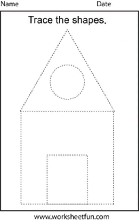 picture tracing  worksheet  printable worksheets