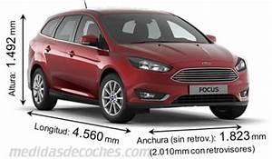 Dimension Ford Focus 3 : medidas ford focus sportbreak 2015 maletero e interior ~ Medecine-chirurgie-esthetiques.com Avis de Voitures