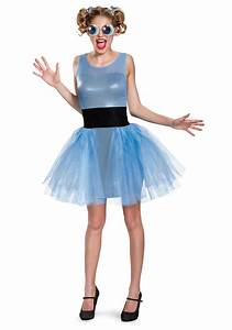 Adult Deluxe Bubbles Costume from the Powerpuff Girls