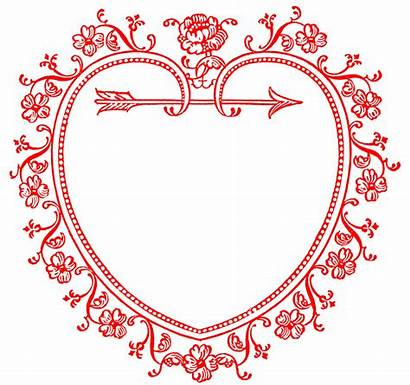 Heart Frame Clip Valentine Sweetest Valentines Graphics