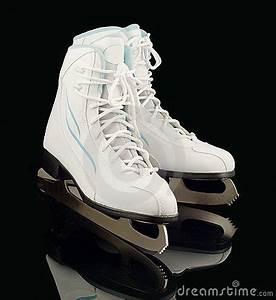 Pair Of Figure Ice Skates Royalty Free Stock Photos ...