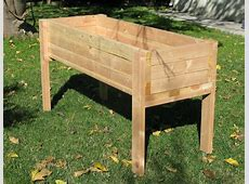 Planters glamorous elevated planter box Raised Planter