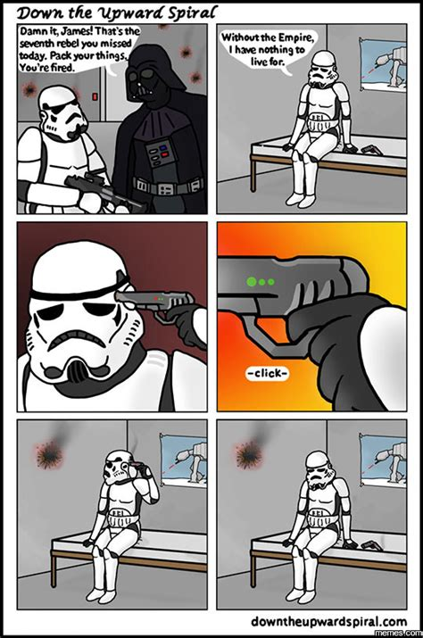 Stormtrooper Memes - stormtrooper gets fired memes com