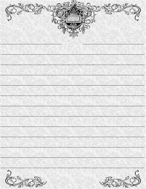 Free Printable Decorative Paper Borders - Printable Pages
