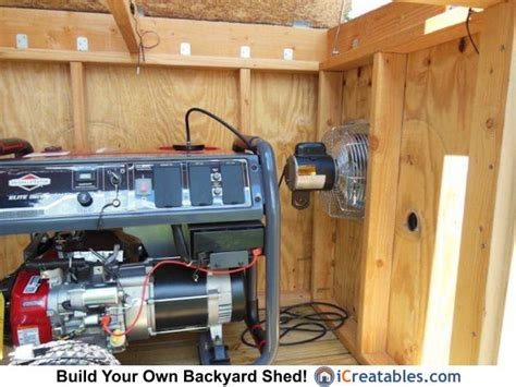 Storage Shed For Portable Generator by Best 25 Generator Shed Ideas On How To Build