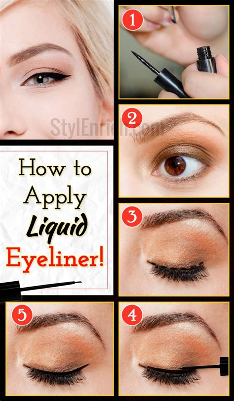 Liquid Eyeliner  How To Apply Eyeliner With Perfection