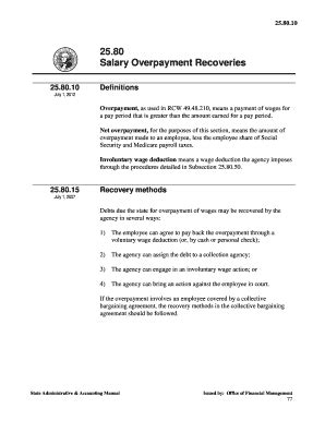 overpayment letter  employee sample edit fill print