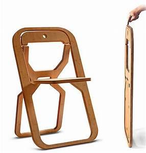Chaise Pliante Exterieur : chaise pliante infine par desile design blog d co design ~ Teatrodelosmanantiales.com Idées de Décoration