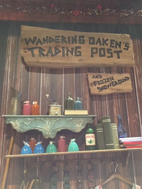wandering oakens trading post archives living  disney