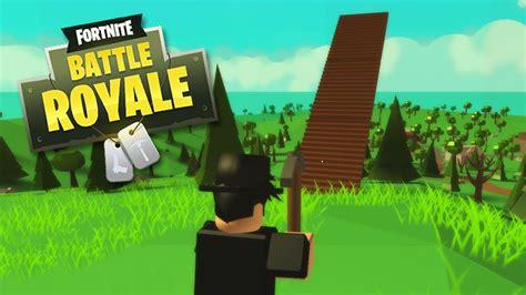 playing fortnite  roblox roblox island royale youtube