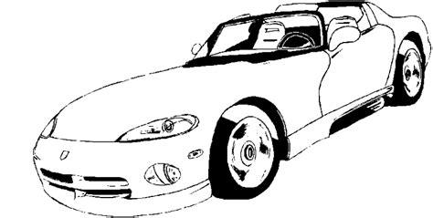 dibujos  imprimir  colorear coches  colorear