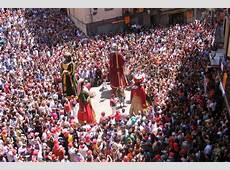 Fiesta de la Patum Fiestas y Tradiciones de España