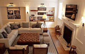 Furniture lounge furniture and rooms furniture on pinterest for Sectional couch living room layout