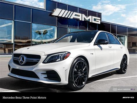 The front end has been redesigned with new led headlights and a. New 2020 Mercedes-Benz C43 AMG 4MATIC Sedan 4-Door Sedan in Victoria #448060 | Three Point Motors