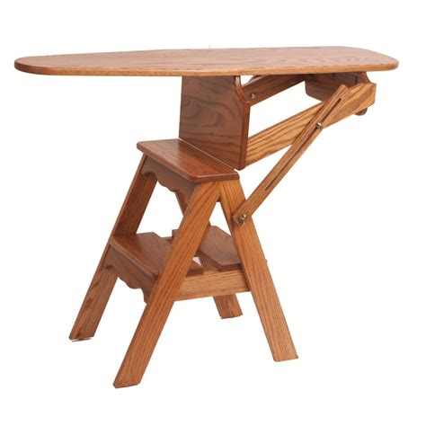 ironing board step stool iron board step stool amish crafted furniture